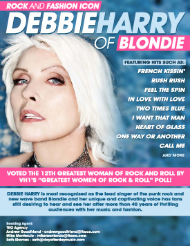 Debbie Harry Graphic Design Poster