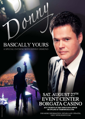 Donny Osmond Graphic Design Poster
