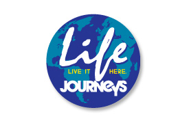 Life Journeys Graphic Design Poster