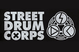 Street Drum Corps Graphic Design Poster