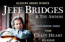 Jeff Bridges & The Abiders Graphic Design Poster