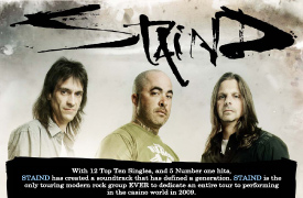 Staind Graphic Design Poster