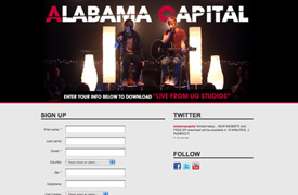 Alabama Capital Web Design and development