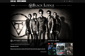 Black Lodge Web Design and development Custom Wordpress Theme