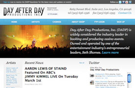 Day After Day Productions Web Design and development