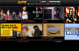 Rowdy Roddy Piper Web Design and development
