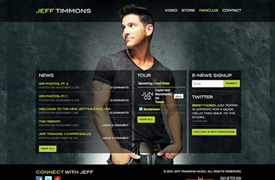 Jeff Timmons Web Design and development