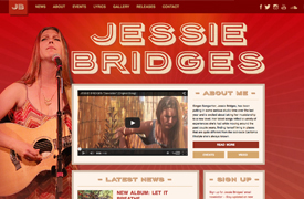Jessie Bridges Web Design and development