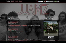 JJAMZ Web Design and development