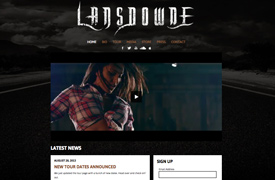 Lansdowne Custom Wordpress Theme
