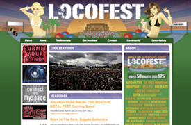 Locofest Web Design and development